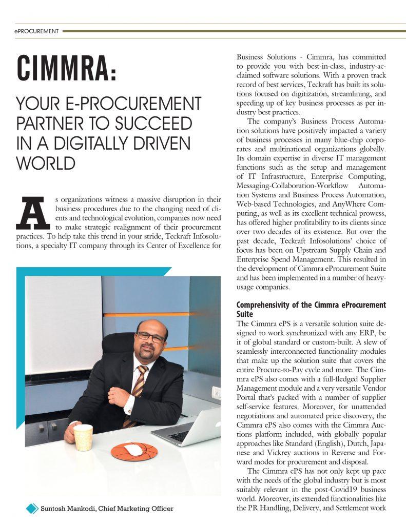 Cimmra CIO review 2020